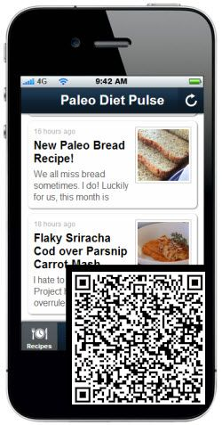 Paleo Diet Pulse Mobile App